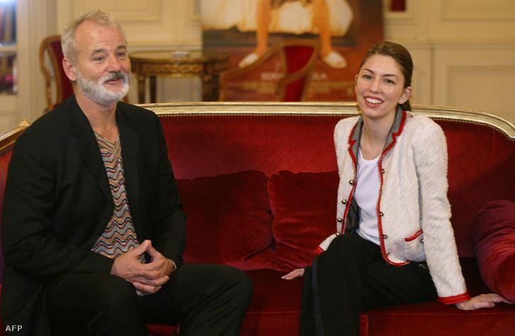 Bill Murray és Sofia Coppola