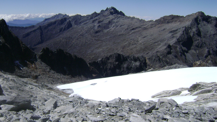 A Humboldt-gleccser egy 2009-es felvételen