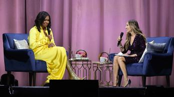 Michelle Obama olyat tett, amit A szürke ötven árnyalata óta senki