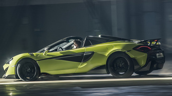 McLaren 600LT Spider: a jónál is jobb?