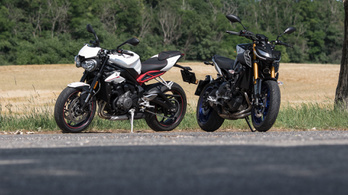 Összehasonlító: Triumph Street Triple R vs. Yamaha MT-09 SP