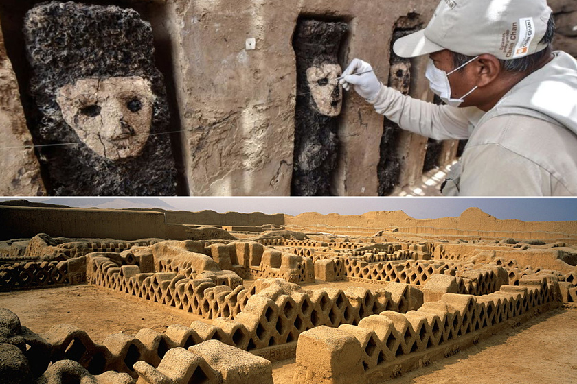 Titokzatos kapu őrei lehettek a szobrok: közel ezer év után hozták őket felszínre