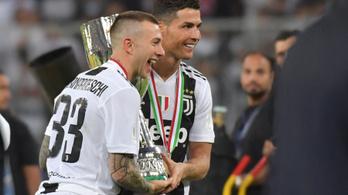 Ronaldo megnyerte a Szuperkupát a Juventusnak