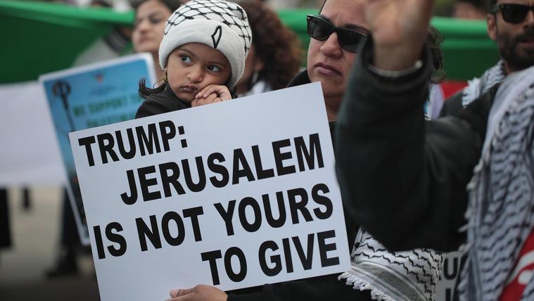 Kiszivárgott Trumpék nagy közel-keleti béketerve