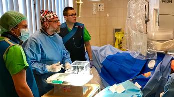 Egy tízcentis májdaganat fele elpusztult a Semmelweis Egyetemen végzett kezeléssel