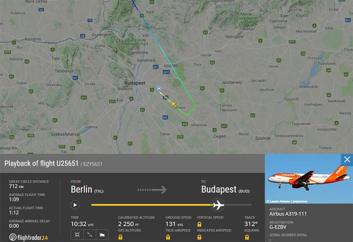 Rendőrt kellett hívni a Berlin–Budapest-járat egyik utasa miatt