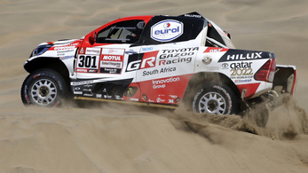 Megvan a Toyota első Dakar-győzelme