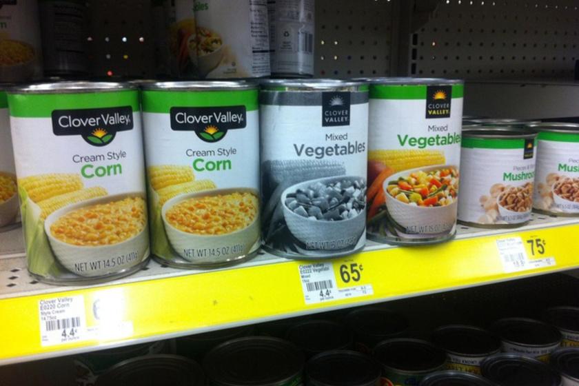 - Egy eladót kérek a tartós élelmiszerekhez! Pixelhiány a zöldségkonzerveknél!