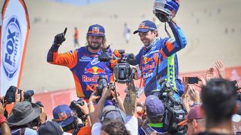 A KTM nagyon megnyerte a Dakart
