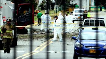 Bomba robbant Bogotában, nyolcan meghaltak
