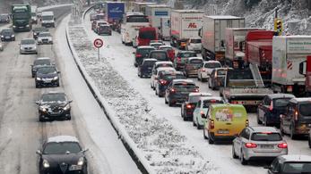 Másfélmillió kilométernyi dugó volt tavaly Németországban