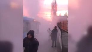 BKV: Nem volt se tűz, se füst. Utasok: KÖH-KÖH-KÖHÖM
