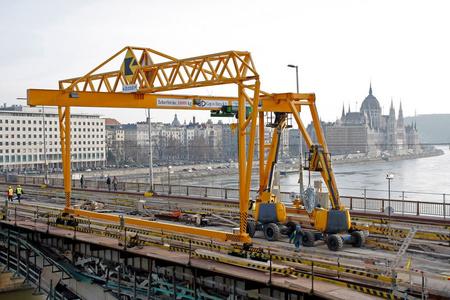 A Margit-híd felújítása