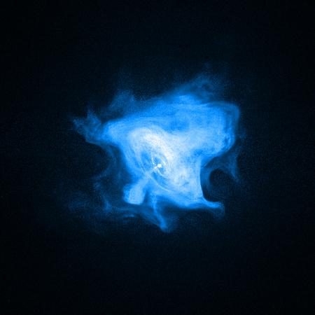 A Rák-köd anyag és antianyag nyalábjai