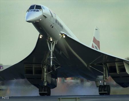 Az utolsó brit Concorde landolása