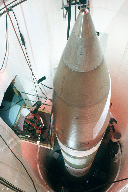 LGM-30G Minuteman III interkontinentális rakéta