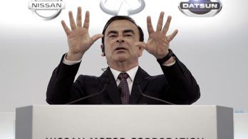 Közel 8 millió eurót vett ki Goshn a Nissan-Mitsubishi közös vállalatából