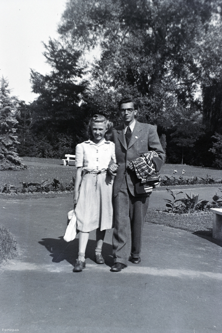 Barbjerik Ferenc és későbbi felesége, Lasztoméry Kamilla.