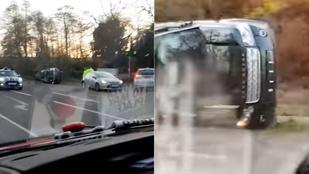 A 97 éves Fülöp herceg maga vezetett az autóbalesetkor