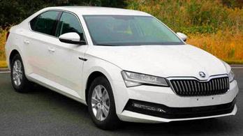 Lelepleződött az új Škoda csúcsmodell
