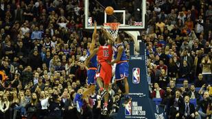 Dudaszóra verte meg magát a Knicks úgy, hogy a labda be sem ment