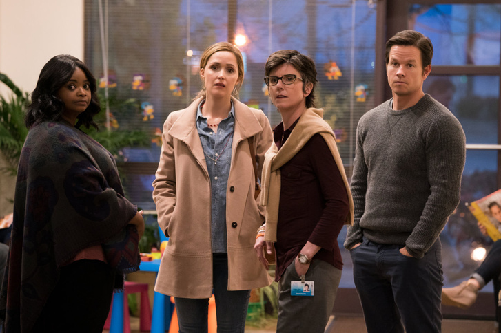 Octavia Spencer, Rose Byrne, Tig Notaro és Mark Wahlber az Instant család című filmben