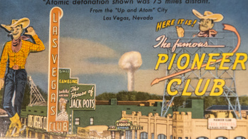 Las Vegas rájött, hogy meg is lehet szeretni az atombombát
