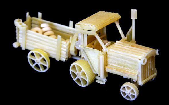 pasta tractor
