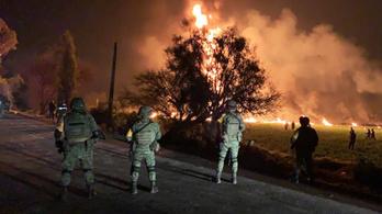 Többen meghaltak és megégtek egy megcsapolt mexikói üzemanyag-vezeték robbanásában