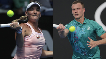 A Babos-Fucsovics vegyes páros továbbjutott az ausztrál nyílt teniszbajnokságon