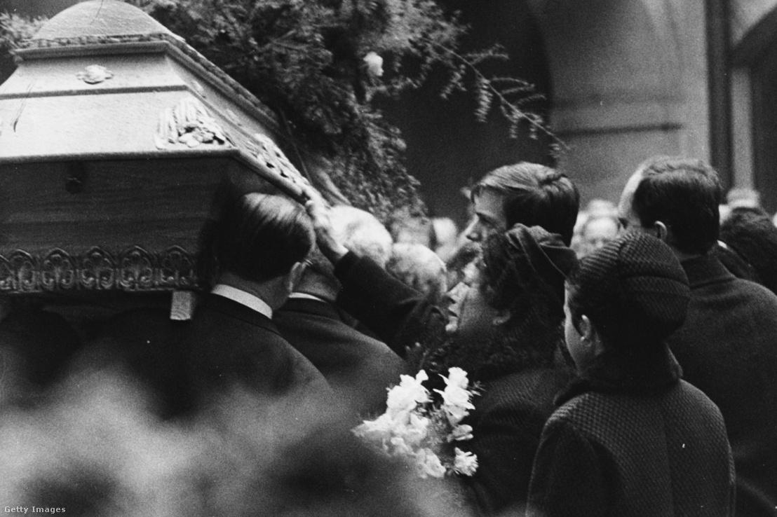 Jan Palach temetése 1969 januárjában