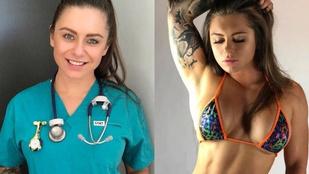 155 kilóval guggol ez a 24 éves ápolónő