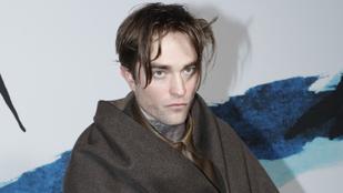 Hűha, Robert Pattinson hátborzongatóan egzaltáltnak tűnt tegnap