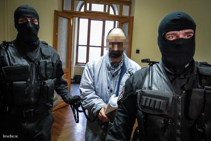 Ahmed H. tárgyalása 2019. január 17-én, Budapesten