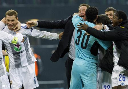 A forduló tökéletesen alakult az oroszoknak. A negyedik helyről a másodikra ugrottak az Inter legyőzésével, és továbbmentek a BL-ben.