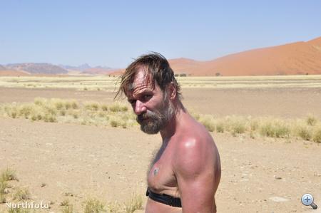 Win Hofot végig megfigyelés alatt tartották vízmentes sivatagi maratonja során. Semmi baja nem lett