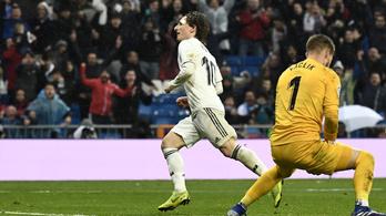 Casemiro bombájával és Modric erőszakosságával nyert a Real