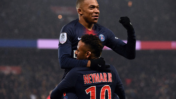 Neymar visszatért, 9-0-val KO-zott a PSG