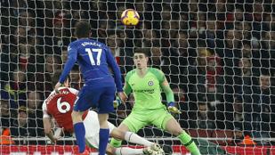 Az Arsenal verte a Chelsea-t, sűrűsödik a PL