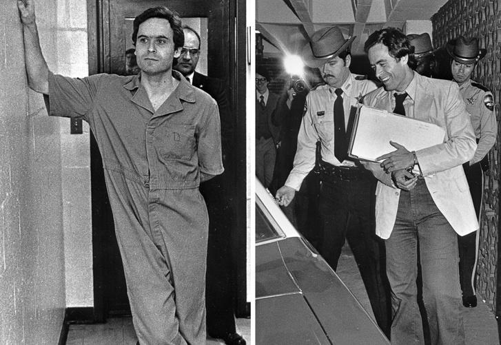 Bundy 1978-ban letartóztatása után, és 1979-ben egyik tárgyalásakor