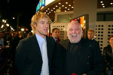 Owen Wilson és Andy Vajna 2002-ben, az Én, a kém premierjén