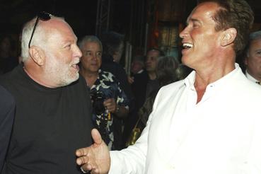 Arnold Schwarzeneggerrel 2003 júniusában