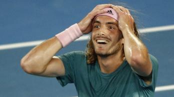 20 éves görög fiatal ütötte ki a címvédő Federert az AusOpenen