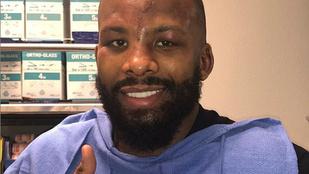 Huszonöt öltéssel varrták össze a bizarr felrepedést a bokszoló fején