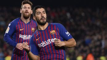 Messit becserélték, minden a helyére került