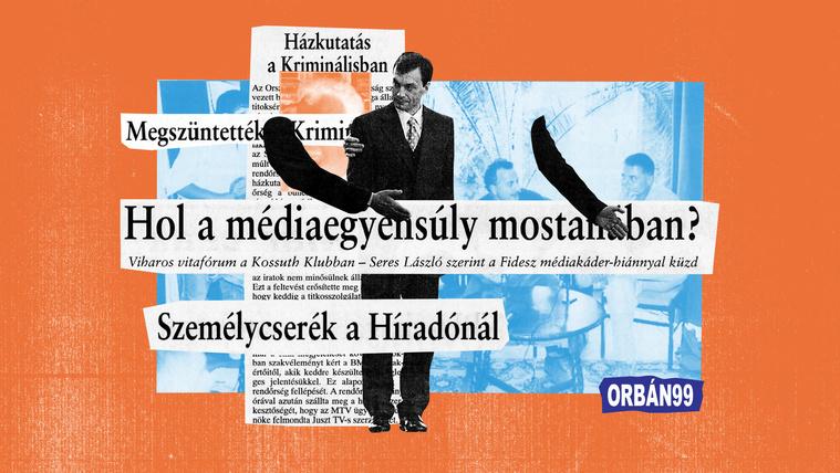 Orbán és a média? Dehát már húsz éve megmondta!