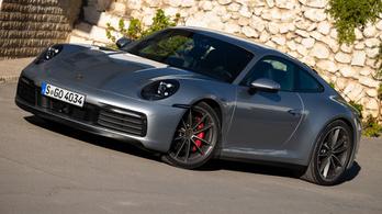 Menetpróba: Porsche 911 (992) – 2019.
