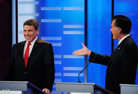Rick Perry és Mitt Romney