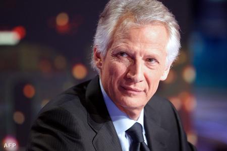Villepin a TF1 magántévé műsorában jelentette be indulási szándékát