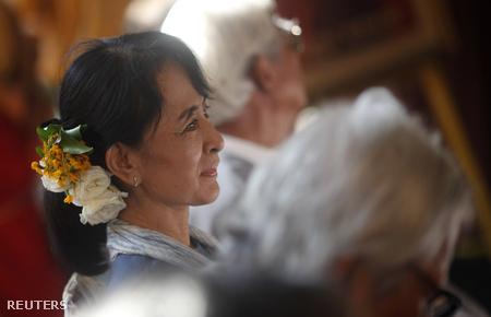 A Nobel-díjas Aung Szan Szú Kji